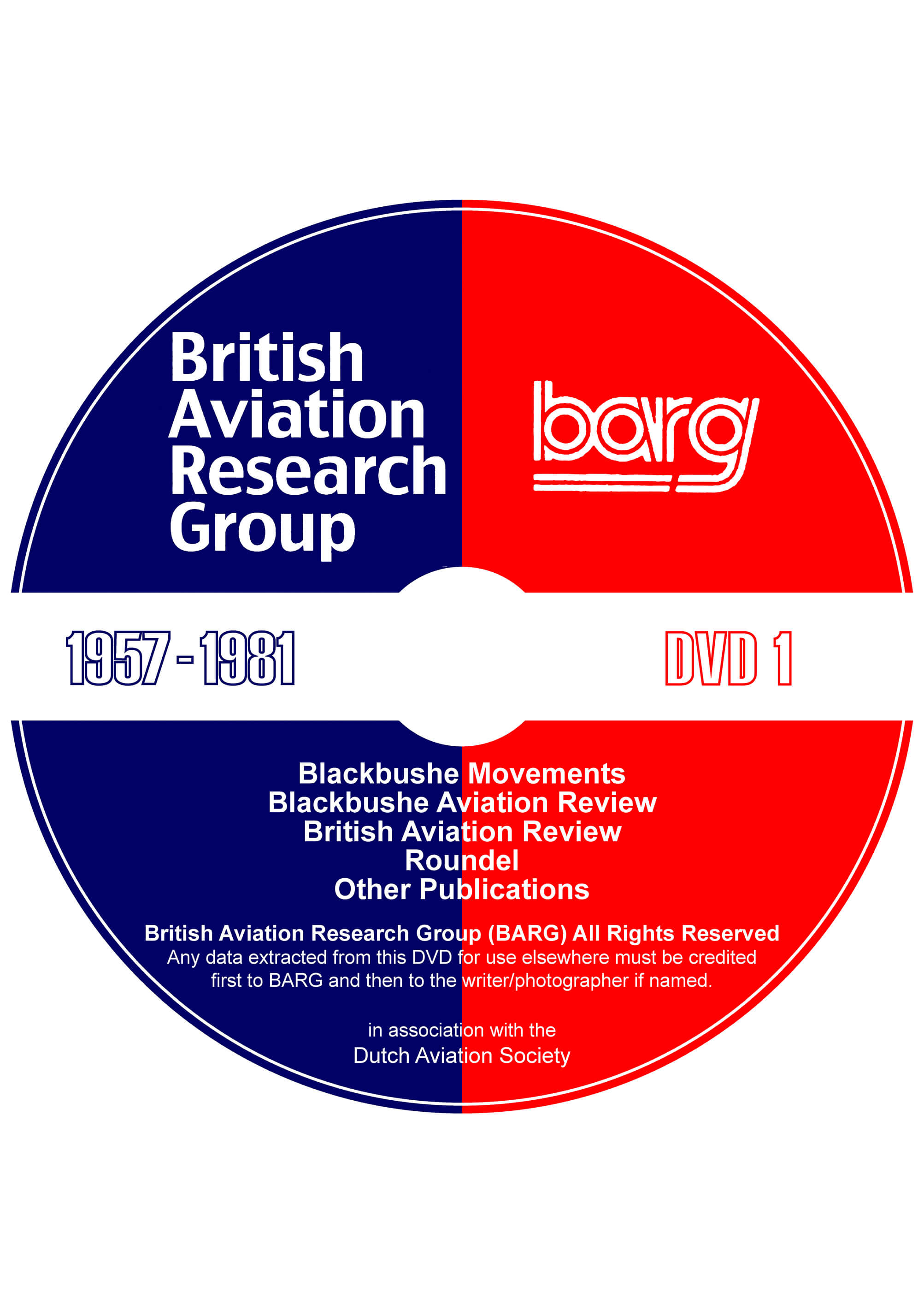 BARG DVD 1 (1957-1981)